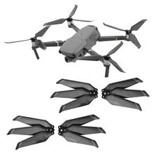 4PCS 8743F Carbon Fiber Propeller for DJI Mavic 2 Pro Zoom Drone 3 Blade Folding Blade Props for Mavic 2 Replacement Prop Parts
