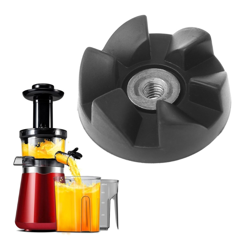Brand Durable Replacement Parts Rubber Blade Gear Thick Shaft Spare Part For Magic Bullet 900W Juicer Accessory 8 replacement spare parts blender juicer parts 4 rubber gear 4 plastic gear base for magic bullet 250w 38