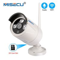 MISECU H 264 WIFI IP Camera Audio Record Sound 720P 960P 1080P HD With SD Card