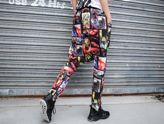 Delgada 2019 mostrar Moda Pantalones Nueva Primavera Tenedor De Caliente Grúa Pantalones Color l Photo Personalidad S Mujeres Suelta Haroun xIa1qIH