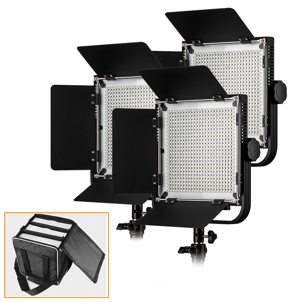 LED Video Studio Light (3 Pack) High CRI 90+ with Customized Portable Carry Bag for 3 LED Video Lights for DSLR Cameras global elementary coursebook with eworkbook pack