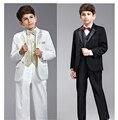 8 шт./компл. свадебные костюмы для мальчиков формальные mariage комплект одежды vetement гарсон jongens kleding дети abbigliamento bambini