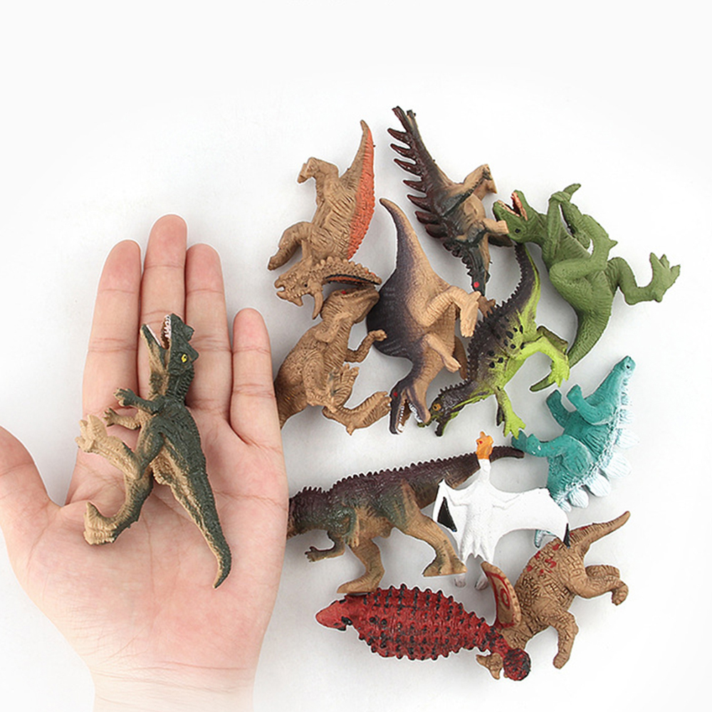 1 Pieces Random Send Toys Gifts Dinosaurs Action Figures Animal Model  Dragon Toys Figure Kid Children Collection Toy