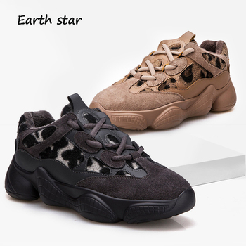 zapatos de mujer Casual Shoes Women Fashion Brand Platform Sneakers Leopard Lady chaussure Autumn New Female Leisure footware