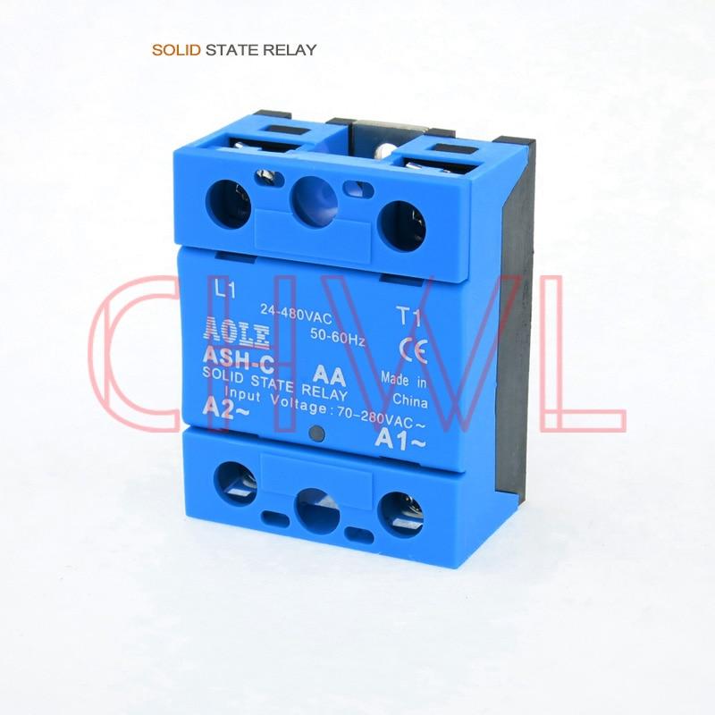 High Quality 1pcs Solid State Relay Module ASH-C 120AA 120A/250V 70-280VAC Input 24-480VAC Output FREE SHIPPINGHigh Quality 1pcs Solid State Relay Module ASH-C 120AA 120A/250V 70-280VAC Input 24-480VAC Output FREE SHIPPING