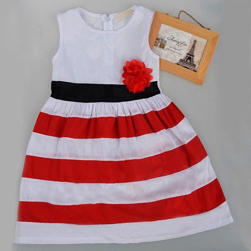 5acb444be Lindo bebé Niñas flor raya blanca roja Navidad edredón princesa vestido del  chaleco