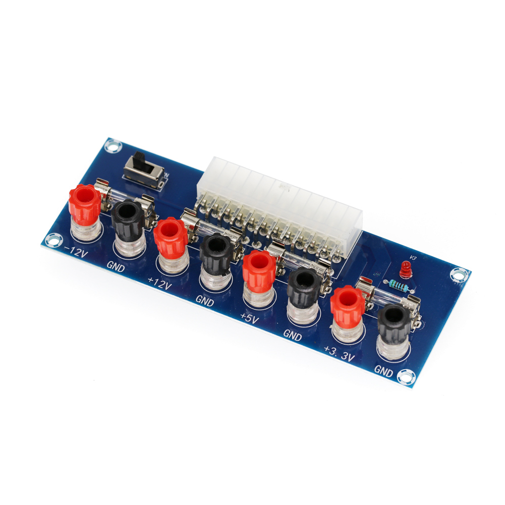 Plastic Gasket High Efficiency Breakout Board Computer Power Multiple Output Channel Professional Home Easy To Connect ATX Port