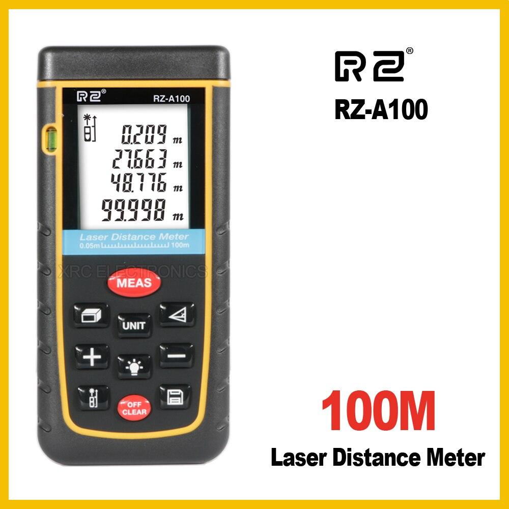 RZ rza100 10 100 м лазерный дальномер электронная линейка цифровой Клейкие ленты измерить область Объем Инструмент