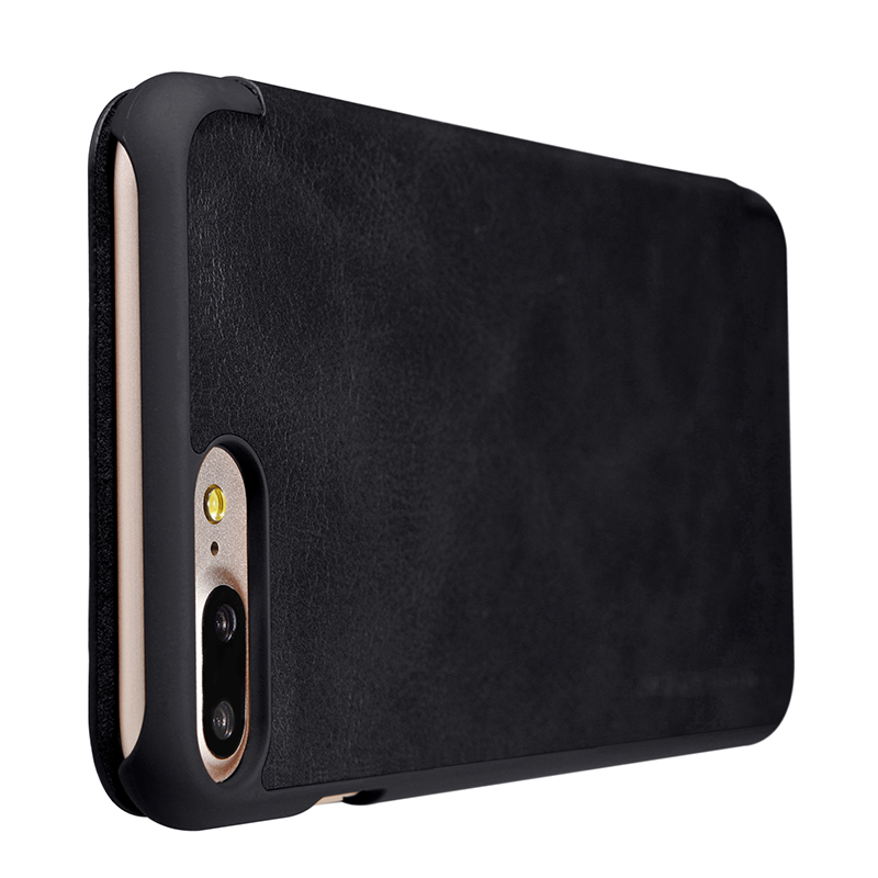 NILLKIN För Apple iPhone 7 Plus Väska Högkvalitativt läderfodral - Reservdelar och tillbehör för mobiltelefoner - Foto 6