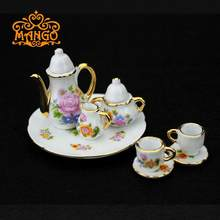 Doll's Tableware China Coffee Tea Set For Dollhouse Miniature 1:6 Philip Momoko BJD J-doll(China)