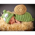New Cutest Crochet Baby Hats Snail Photography Props Newborn Baby Outfit boy girl body photo props crocheted cloths