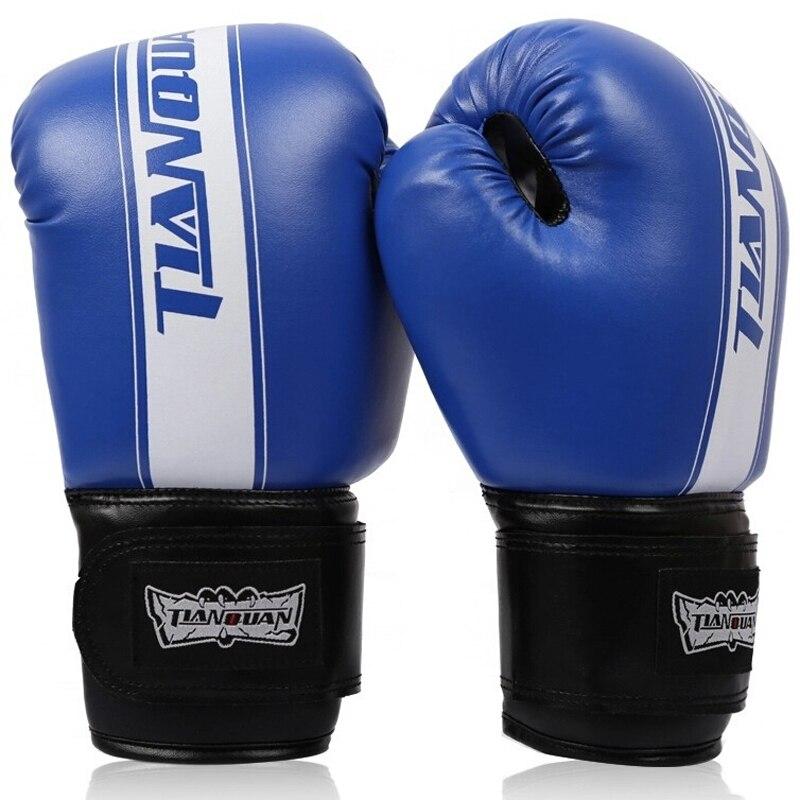 fdc37f28d Preto Vermelho Azul Feminino Masculino Wushu Sanda Luta Luvas boxeo luvas  muay thai Luvas De Boxe Mulheres Formação MMA Saco De Areia Soco Mitts em  de no ...