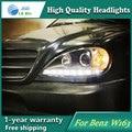 Auto Clud Estilo LED Cabeça Da Lâmpada para o Benz W163 ML320 ML280 ML350 ML430 led sinal led drl faróis hid Bi-Xenon Lente baixo feixe
