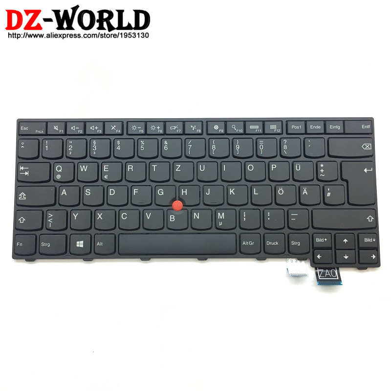New Original for Lenovo Thinkpad T460S S2 13 S2 2nd 13 2nd German Keyboard GR Germany Teclado 00PA505 00PA423 neworig keyboard bezel palmrest cover lenovo thinkpad t540p w54 touchpad without fingerprint 04x5544