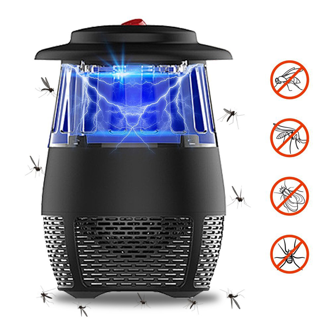 Lights & Lighting Insect Trap Usb Photocatalyst Silent Repeller Electric Led Light Mosquito Killer Lamp Durable Energy Saving Safe Multifunctional Outdoor Lighting