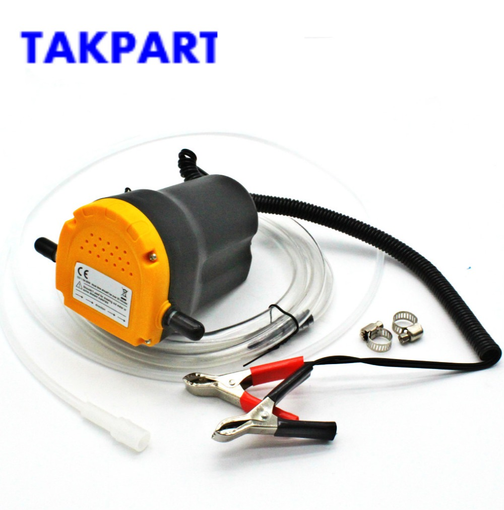 Responsible 12v Motor Oil Diesel Extractor Oil Scavenge Suction Transfer Pump Dispensers & Accessories