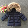 2016 winter fashion brand clothing baby boy jacket kids thick kind outerwear suit mark girl down coats