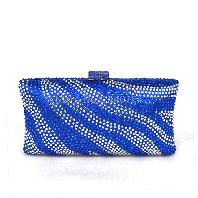 Luxury Diamond Bags Small Stone Clutches Women Evening Bag Chain Lady Party Purse  And Handbags Colorful 8520b98a7bfe2