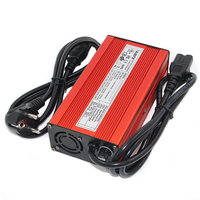 12.6V 10A charger 12V 10A  for 12V 3S battery charger electric bike Aluminium Alloy with Fan