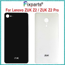Zuk z2 Glass Battery Back Cover Lenovo ZUK Z2 housing Door Cases+3M Adhesive New Repair Pro