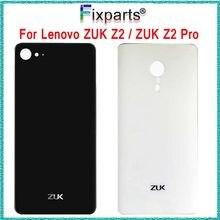 Zuk z2 szklana tylna obudowa baterii Lenovo ZUK Z2 obudowa tylne drzwi zamykane pokrowce + 3M klej nowa naprawa Lenovo ZUK Z2 Pro tylna okładka