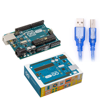 UNO R3 MEGA328P CH340 CH340G For Arduino UNO R3 With USB Cable Free Shipping