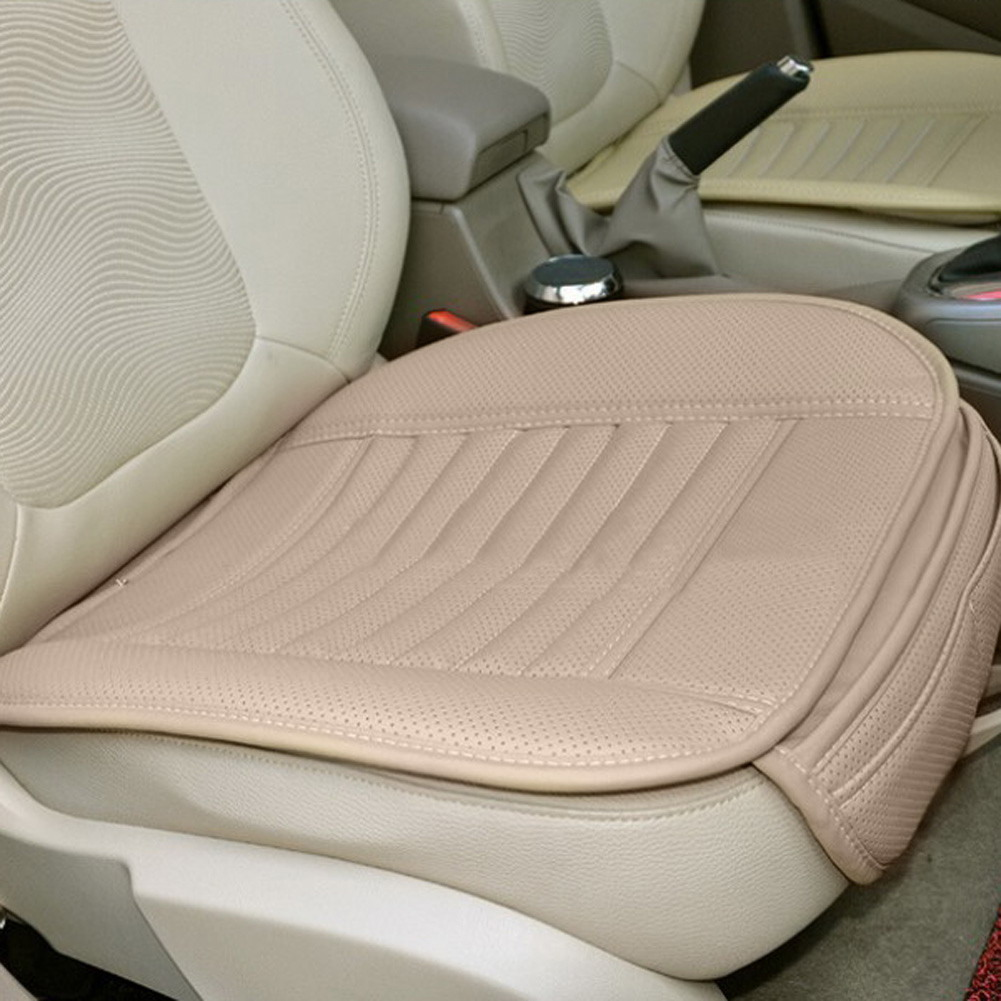 universal car seat cover cushion pu leather bamboo summer slip mat car seat mat cushion cover. Black Bedroom Furniture Sets. Home Design Ideas