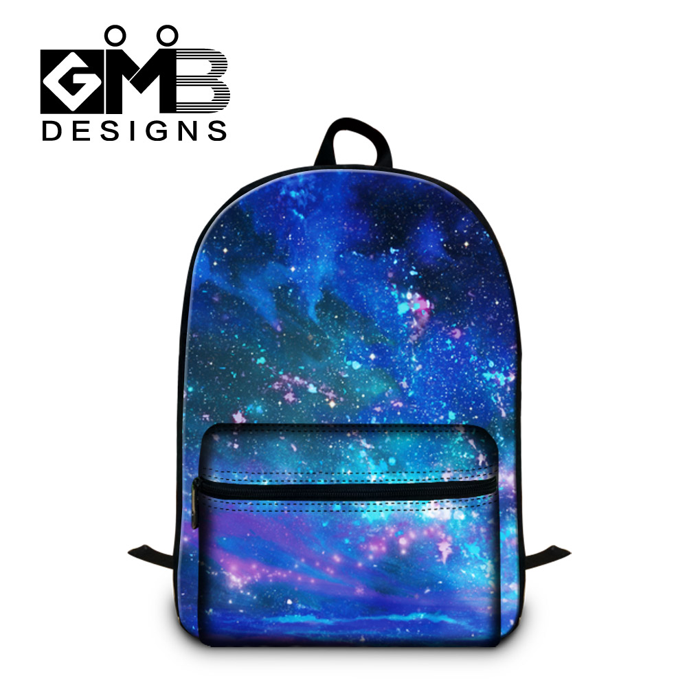 Girls Casual Shoulder Backpack Children Best School Bags Galaxy Printing Back Pack Magazine for College Students Computer bags