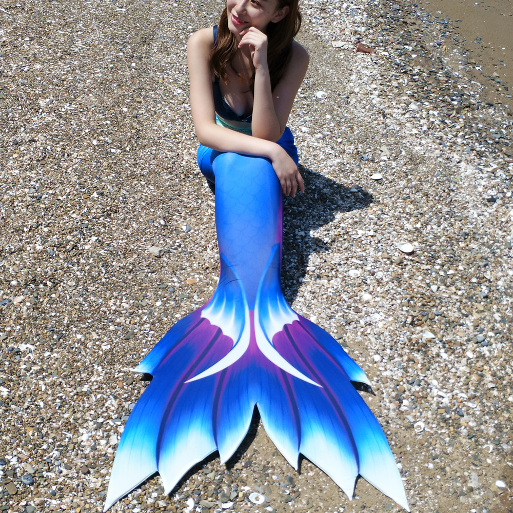 Adults Mermaid Costume With Monofin Mermaid Tail Cosplay Costume Bikini Little Mermaid Mermaid Tail Zeemeerminstaart Cola Sirena