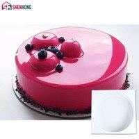SHENHONG силиконовый торт круглой формы для выпечки формы для пудинга мусс Шоколадные украшения формы для выпечки инструмент пан