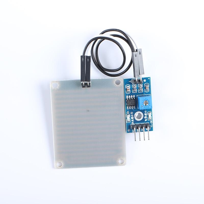 5 pcs Rain Sensor Rainwater Module Detection Module 3.3V-5V