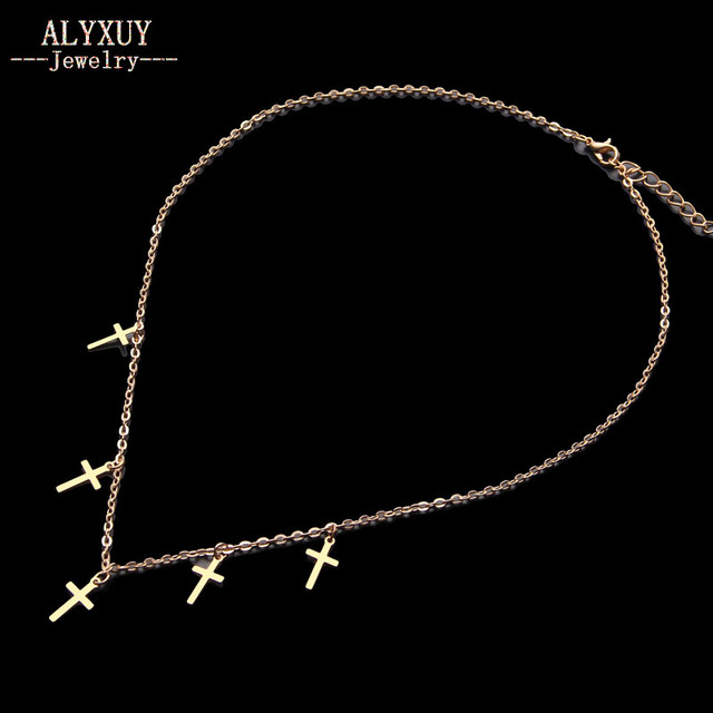 Trendy Jewelry Cross Chain...