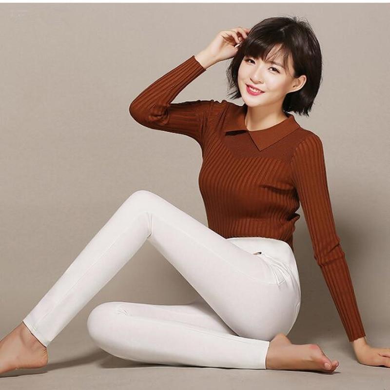 100% Wahr Shikoroleva Frauen Leggings 2019 Hohe Taille Slim Fit Stretch Abnehmen Plus Größe 6xl 5xl S Navy Weiß Schwarz Rot Pantalon Jeggings äSthetisches Aussehen