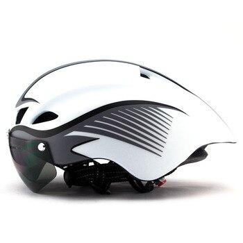 ea64855fbd Alta calidad MTB ciclismo de carretera adulto casco de los hombres y las  mujeres ultraligero de seguridad bicicleta casco proteger 56-62 cm,  ajustable casco ...