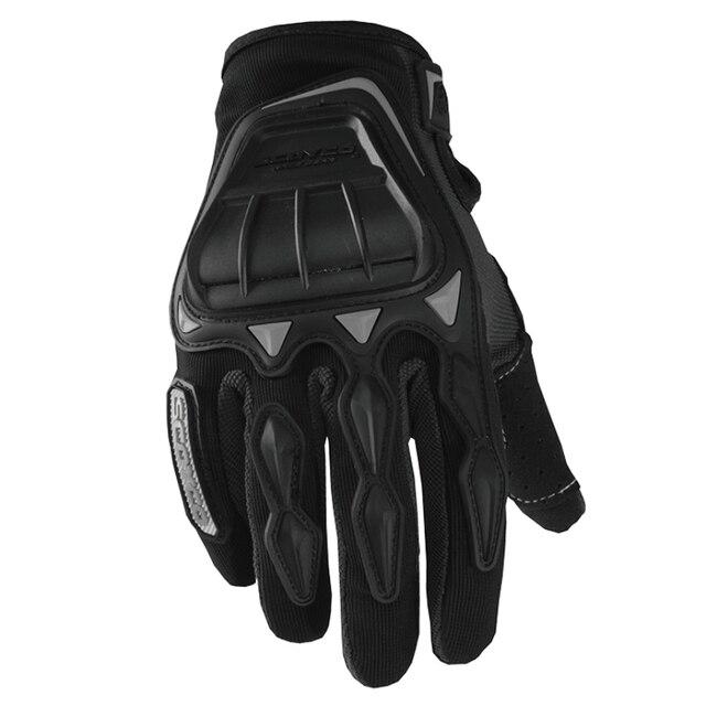 Scoyco MC08 guantes Motorcycle Racing Gloves Full Finger Biker Protective Gear Motorbike Riding motos motocicleta MX ATV Black