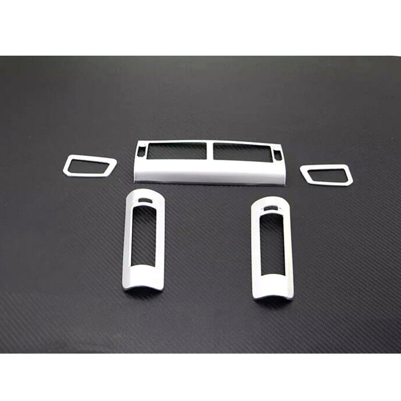 Car Styling!For Land Rover Discovery Sport 2015 2016 Set Chrome AC Vent Outlet Cover Trim 5pcs air condition vent outlet cover trim 5pcs for land rover discovery sport 2015 2016 car interior accessories car styling