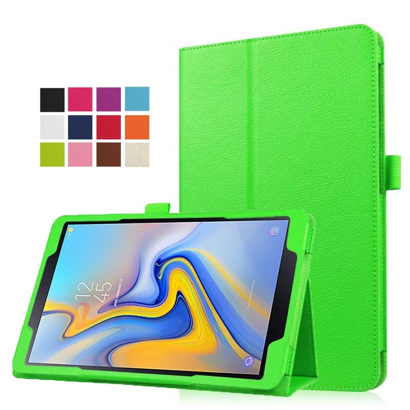 30Pcslot Slim Folding Stand Cover with Auto Wake  Sleep for Samsung Galaxy Tab A 10.5'' SM-T590SM-T595 2018 Release Tablet