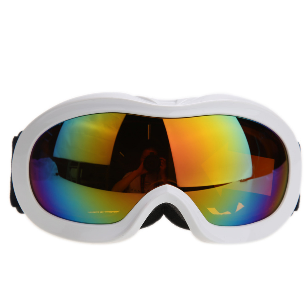 Profesional de Gafas de Esquí UV400 Lente Esférica Anti-vaho Gafas de Esquí Homb