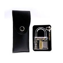 Free Shipping Locksmith Classic Set,15pcs Tools with Bag and Transparent Lock free shipping 15pcs yx8018