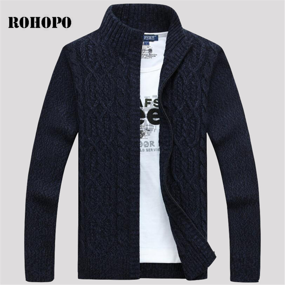 AFS JEEP Full Sleeve Man's Autumn/Winter Casual Cardigan Cotton Wool Loose Sweaters,Field Working Man Brand Cheaper Sweater Male