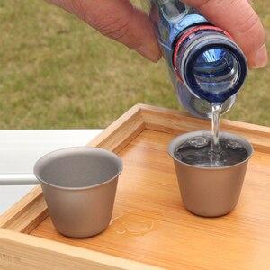 Image 4 - Titan Tasse Outdoor Camping Wein Tee Tasse Picknick Party Drink Anti gebrochen Tasse 1PCS / 2 PCS / 3 PCS Outdoor Geschirr