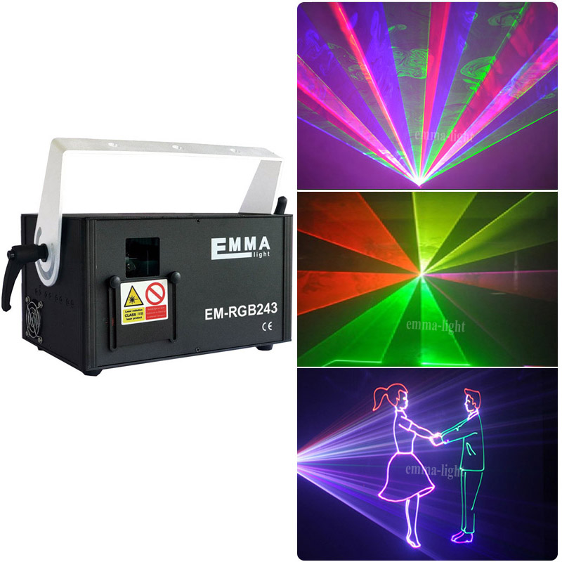 3d rgb laser 2w dj lights dmx ilda sd 2d 3d multi color 1w rgb laser