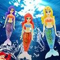 Hermosa Sirena Electrónica Activado Con Pilas Robo Peces Fish Robofish Juguete Childen Robotic Pet Regalo Color Al Azar