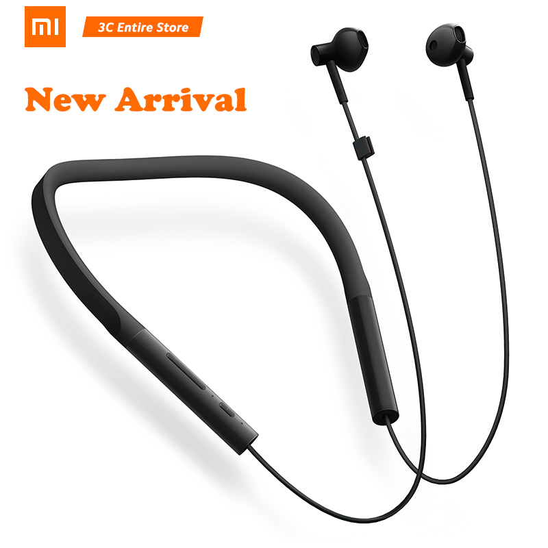 Original Xiao mi collier Bluetooth casque Version jeunesse nouveau tour de cou sport écouteur Charge rapide mi casque sans fil D5 in-ear