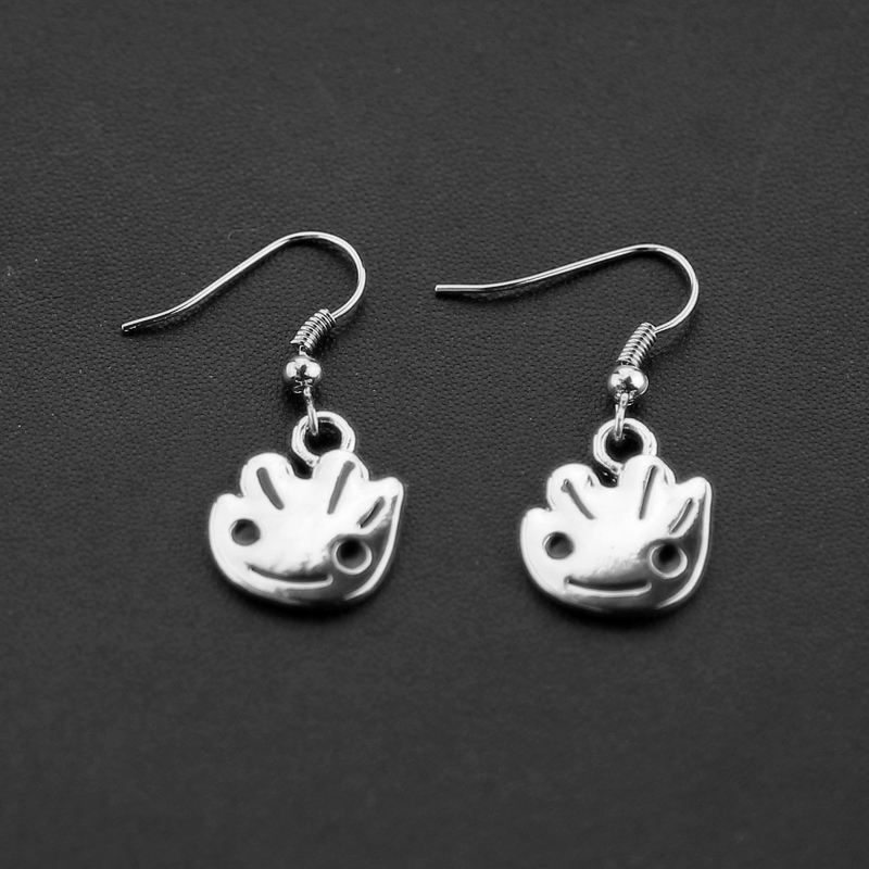 Marvel Avengers Earrings guardian The of the galaxy earrings is a cute baby grotts earrings for the fall of feminine fashion