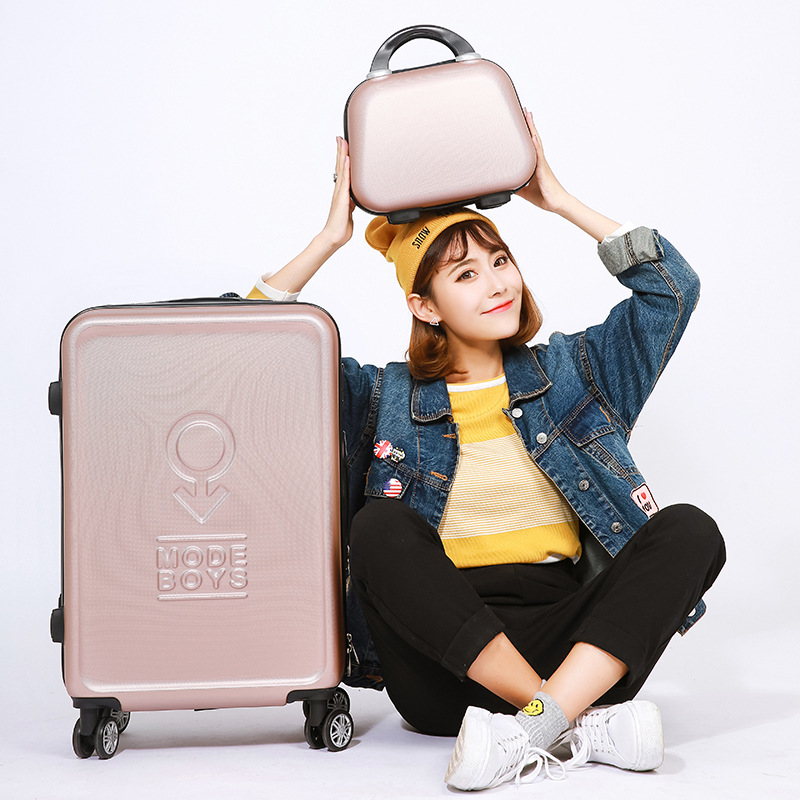20222426inch Carry-Ons Luggage Case Set, Children Women Suitcase,Travel Koffer With Password Lock , Rolling Trolley Hardcase vintage suitcase 20 26 pu leather travel suitcase scratch resistant rolling luggage bags suitcase with tsa lock