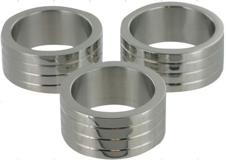 """Buy Discount New Arrival Special Offer Sex Toys Chastity Sale Promotion Stainless Steel(2"""") Cock Ring Sex Products"""