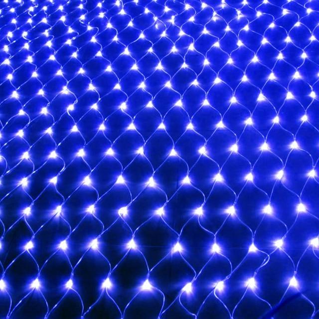 JUNJUE Led Net Lights 220V Wedding Decoration Christmas Fairy String Light Outdoor Holiday Festival Multi Outdoor Garden Lamp 2
