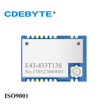 E43-433T13S UART 433mhz 20mW IPX Stamp Hole Antenna IoT uhf SMD Wireless Transceiver Transmitter and Receiver RF Module e18 2g4u04b zigbee cc2531 2 4ghz usb port 4dbm iot uhf wireless transceiver 2 4 ghz transmitter and receiver module