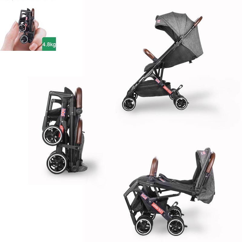 Babyyoya stroller Mini  Lightweight Portable Folding Baby carriage 2 in 1 Baby trolley Pocket stroller One key operationBabyyoya stroller Mini  Lightweight Portable Folding Baby carriage 2 in 1 Baby trolley Pocket stroller One key operation